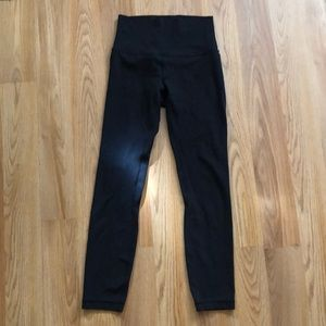 Lululemon align pant black size 4